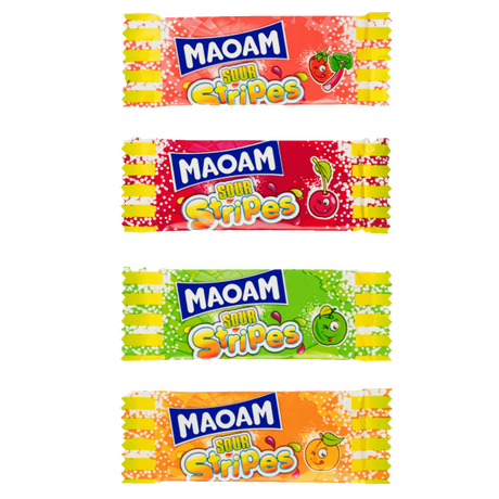 MAOAM Sour stripes 200g image number null