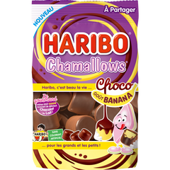 Chamallows Choco goût banana sachet 150g