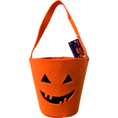 Sac à bonbons Halloween orange